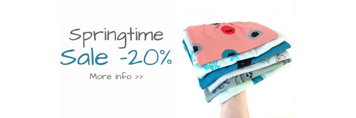 Springtime sale